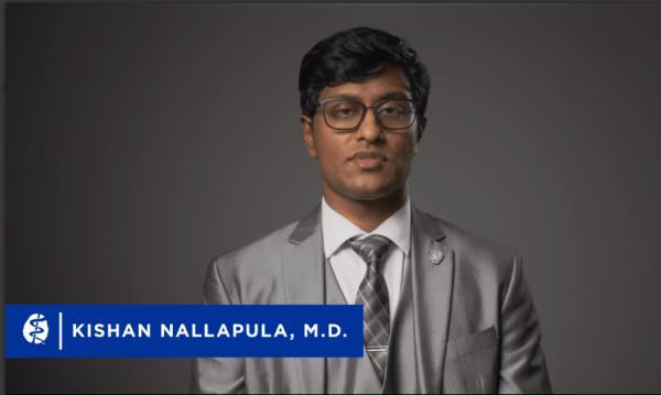 Kishan Nallapula on APA vlog for telepsychiatry